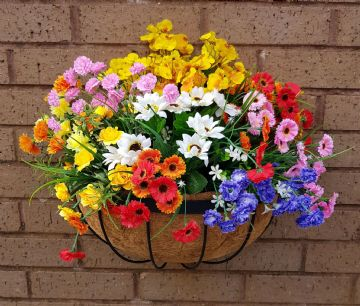 Artificial Flowers Wild Flower 16 inch Hay Rack